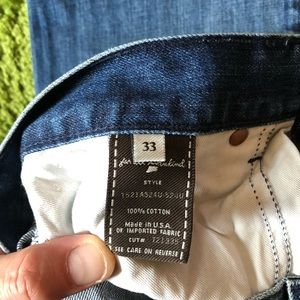 7 For All Mankind Jeans - Mens 7 jeans sz 33